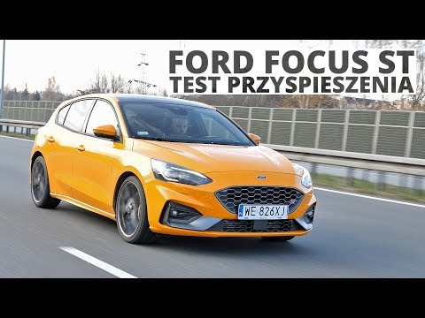 Ford Focus ST 2.3 Ecoboost 280 KM (MT) - acceleration 0-100 km/h