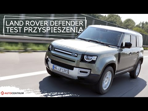 Land Rover Defender 2.0 SD4 240 KM (AT) - acceleration 0-100 km/h