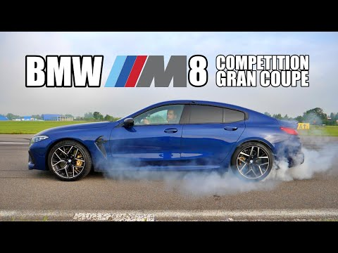 BMW M8 Competition Gran Coupe - Luxury Muscle Car (ENG) - Test Drive and Review