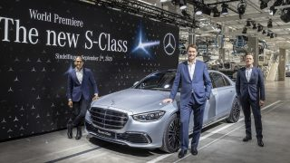 Weltpremiere der neuen Mercedes-Benz S-Klasse in der Factory 56 in Sindelfingen.//World premiere of the new Mercedes-Benz S-Class at Factory 56