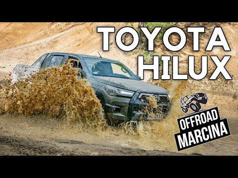 Offroad Marcina: Toyota Hilux - ale to robi!
