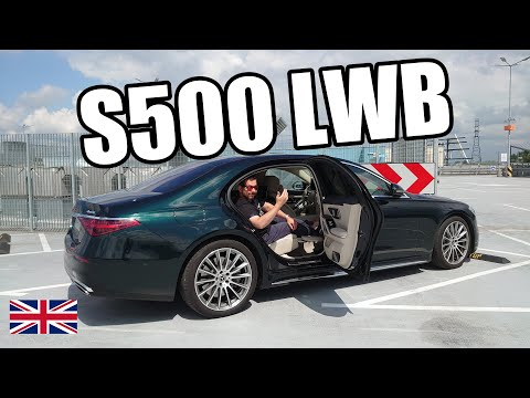 Mercedes-Benz S500 - Broken Hybrid (ENG) - Test Drive and Review