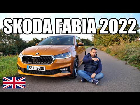 Skoda Fabia 2022 - the last Fabia? (ENG) - First Test Drive and Review