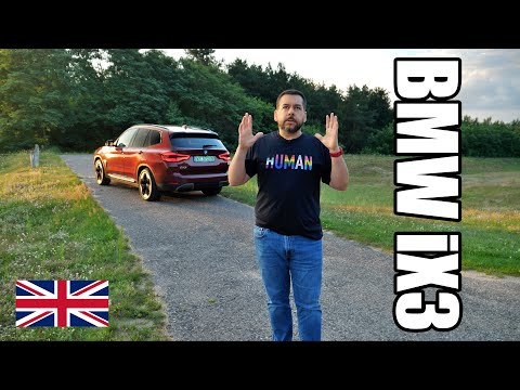 BMW iX3 - BMW's First BEV SUV (ENG) - Test Drive and Review